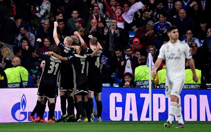 Madridi Real - Amsterdami Ajax