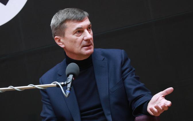 Reformierakonna nimekirja europarlamendi valimistel veab Andrus Ansip.