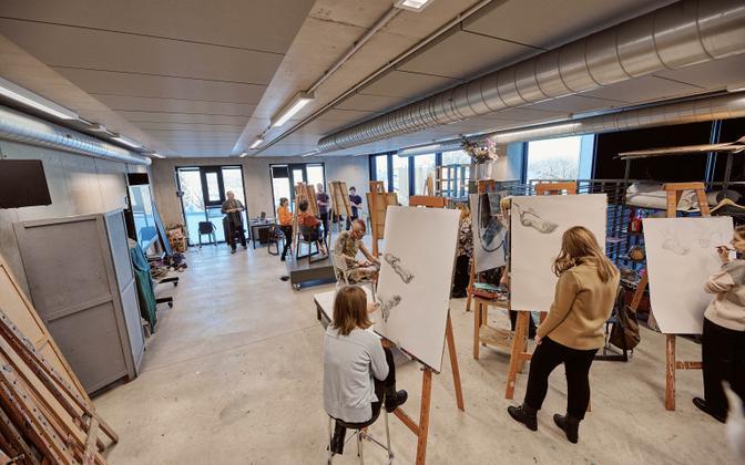 Eesti kunstiakadeemia ootab sisseastumisavaldusi kuni 28. juuni õhtuni