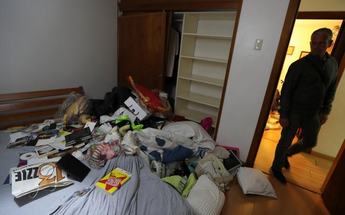 Roberto Marrero kodu, kus toimus läbiotsimine.