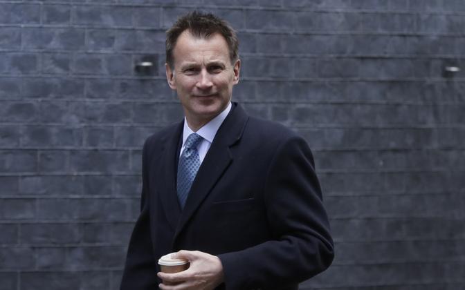 Briti välisminister Jeremy Hunt.