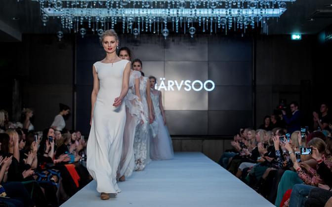 Models at the last Tallinn Fashion Week.
