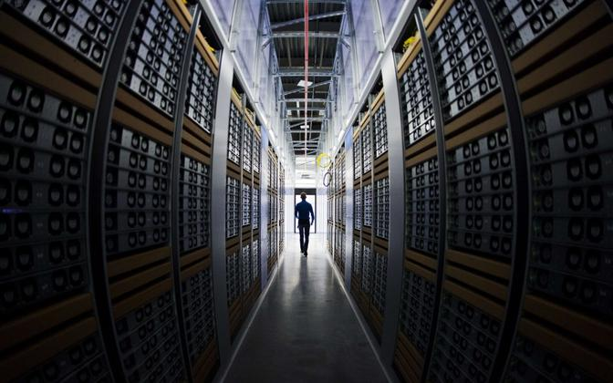 Server room. Estonia's data embassies will back up vital information outside the country's borders to guarantee availability.