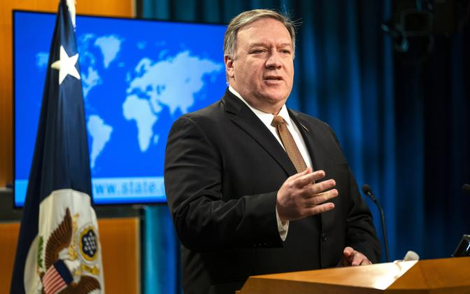 USA välisminister Mike Pompeo.