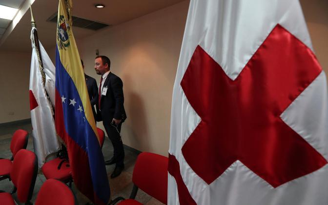 Punane Rist andis Caracases pressikonverentsi.