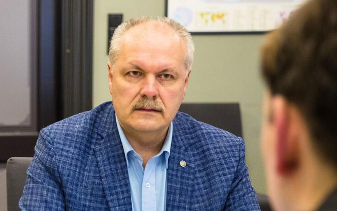 Henn Põlluaas, confirmed as EKRE's candidate for Riigikogu speaker.