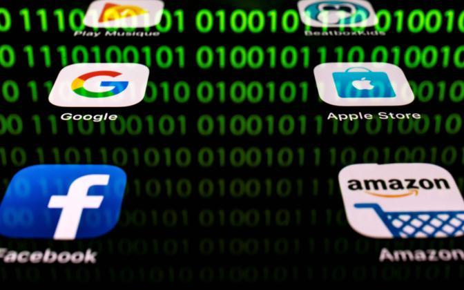 Veebihiidude logod, keda tagasilükatud maksualgatuse oleks võinud puudutada.