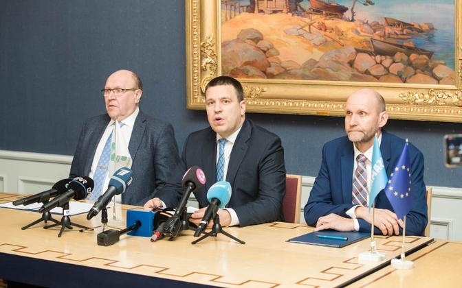 There's an awful lot to talk about following the coalition agreement between Mart Helme, Jüri Ratas and Helir-Valdor Seeder and their parties.