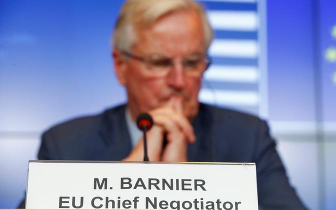 Euroopa Liidu Brexiti-läbirääkija Michel Barnier.