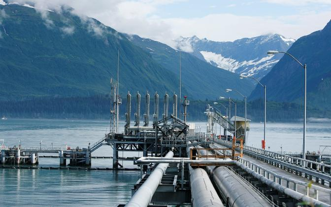 Trans-Alaska naftajuhe.