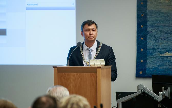 Mihhail Kõlvart valiti Tallinna linnapeaks.
