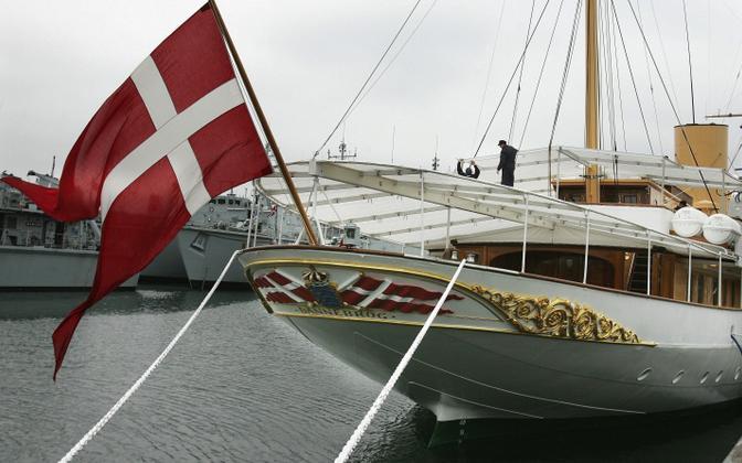 Taani kuninganna saabub Tallinna jahil Dannebrog