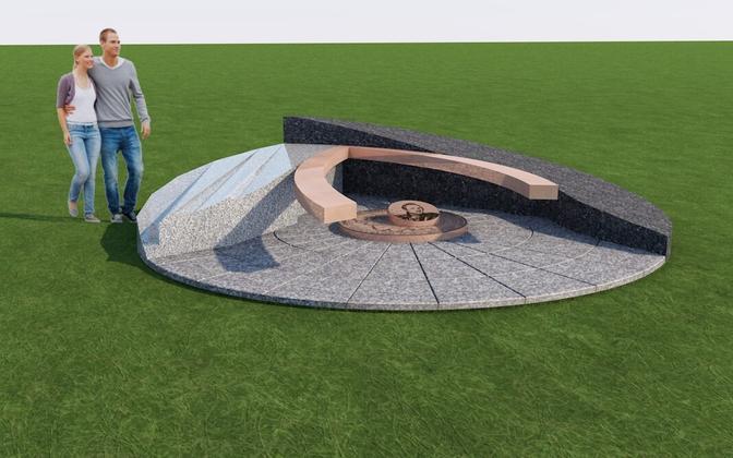 Конкурс идей для памятника Беллинсгаузену прошел осенью в 2014 году, его выиграл проект