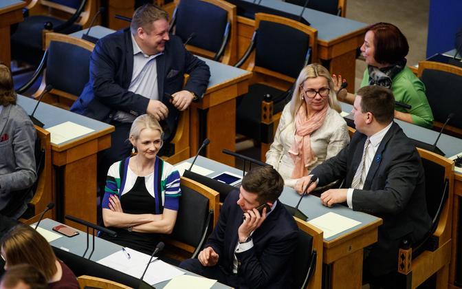 MPs in the XIV Riigikogu.