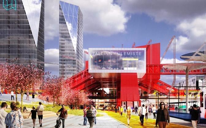 Kolm Pluss Üks arhitektide võidutöö, mis hanke ebaõnnetumise tõttu muutus kasutuskõlbmatuks.