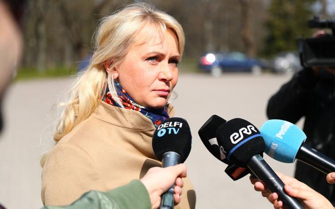 Riina Solman (Isamaa).