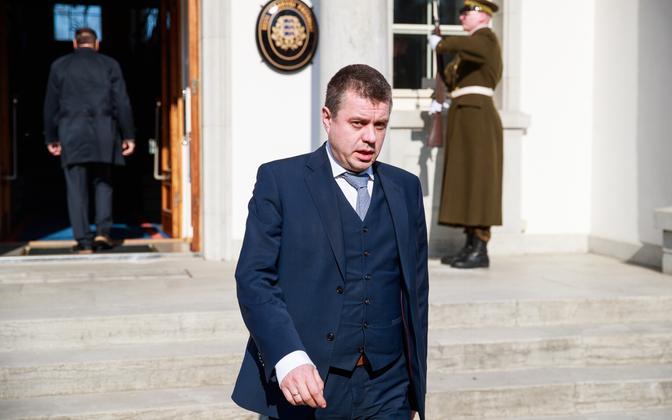 Foreign minister Urmas Reinsalu (Isamaa).