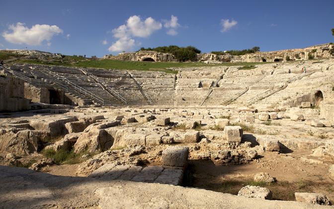 Itaalias asuv amfiteater.