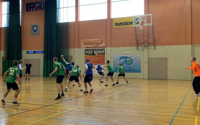 Hetk poolfinaalist Põlva/Arcwoodi ja HC Tallase vahel.