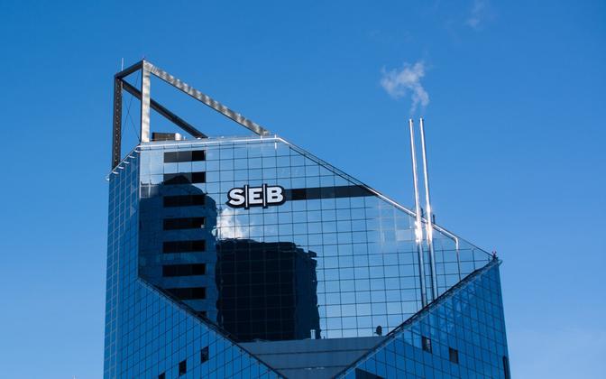 SEB headquarters building in Tornimäe, Tallinn.