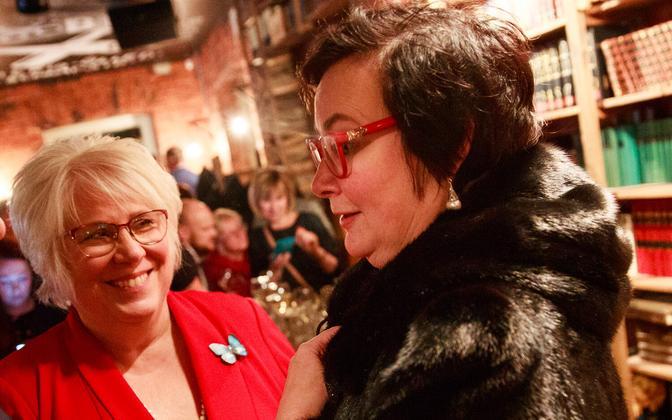 Marina Kaljurand ja Katri Raik.