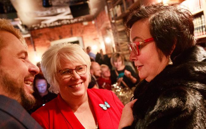 MPs Marina Kaljurand and Katri Raik are both running for MEP on the Social Democrats' ticket.