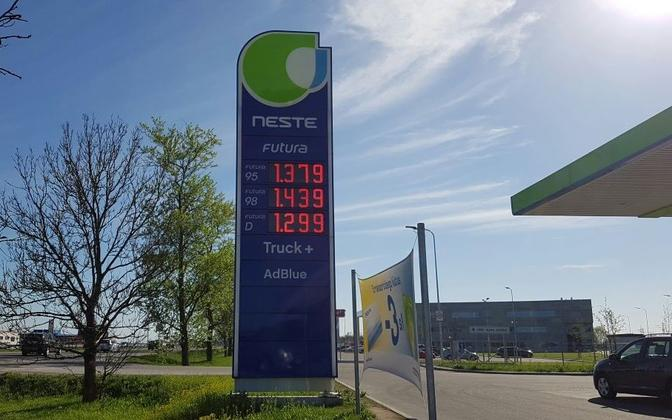 Neste wants to introduce its B100 fuel to Estonian customers this summer.