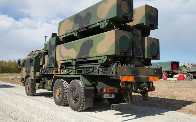 Poola rannakaitse raketiüksus Kevadtormil.