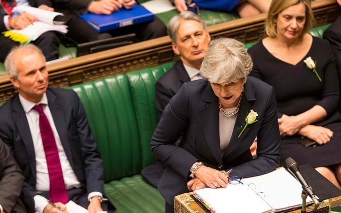 Theresa May Briti alamkojas.