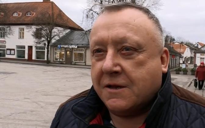 Ettevõtja Vjatšeslav Leedo.