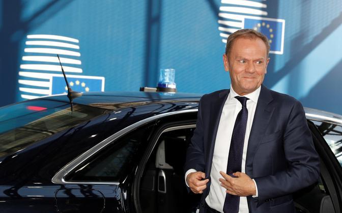 Euroopa Ülemkogu alaline eesistuja Donald Tusk.