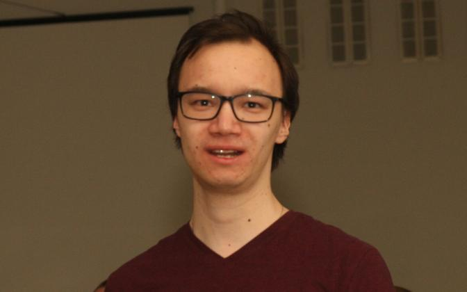 Ulmejutuvõistluse võitja Miikael Jekimov