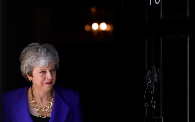 Briti peaminister Theresa May.