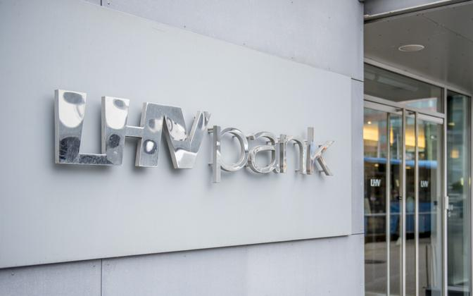 LHV Pank in Tallinn.