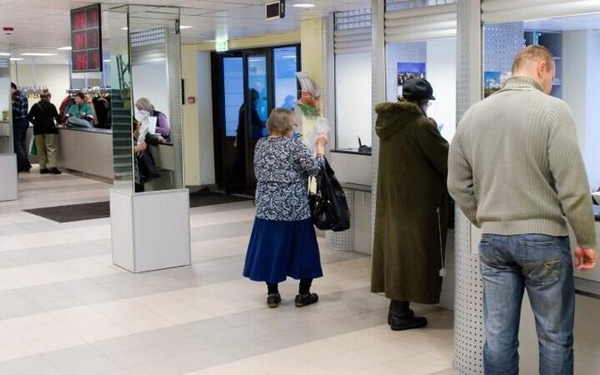 Patient registration at East-Tallinn Central Hospital (ITKH).