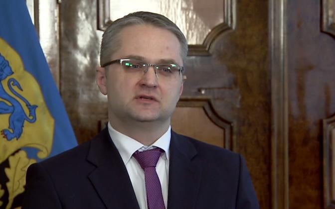 Auditor General Janar Holm.
