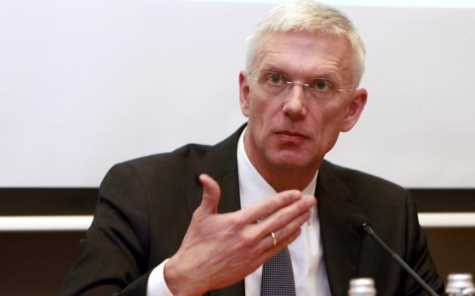 Läti peaminister Krišjanis Karinš.