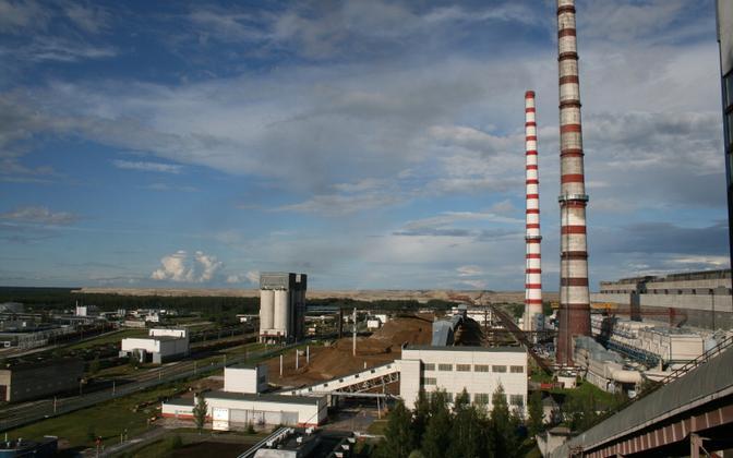 Eesti Energia power station.