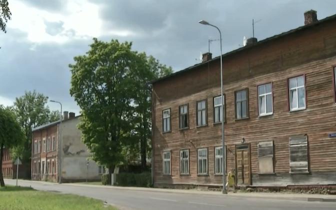 В Валга пустует около 80 домов.