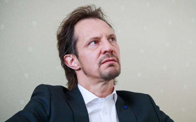 Sotsiaaldemokraatide juht Indrek Saar.