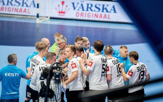 Сборная Эстонии по гандболу.