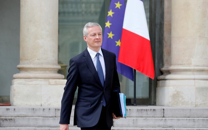 Prantsuse rahandusminister Bruno Le Maire.