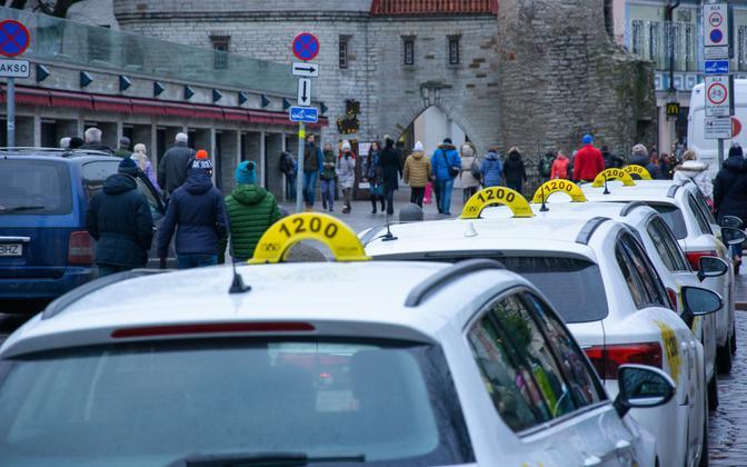 Не все работающие в Эстонии таксисты владеют эстонским на уровне В1.