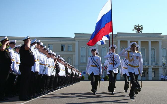 Vene kadetid Sevastopolis.