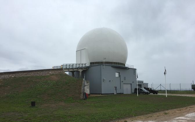 Радарная станция в Келлавере.