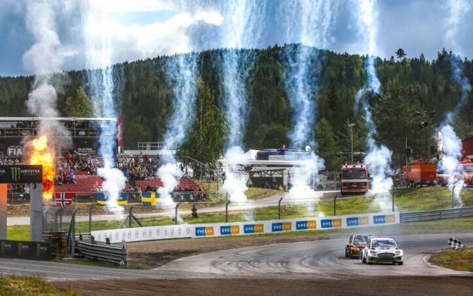 Rallikrossi MM-sarja etapp Rootsis