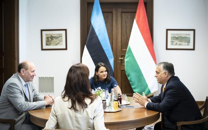 Mart Helme ja Viktor Orbani kohtumine Budapestis