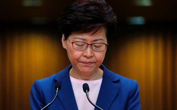 Hongkongi juht Carrie Lam.