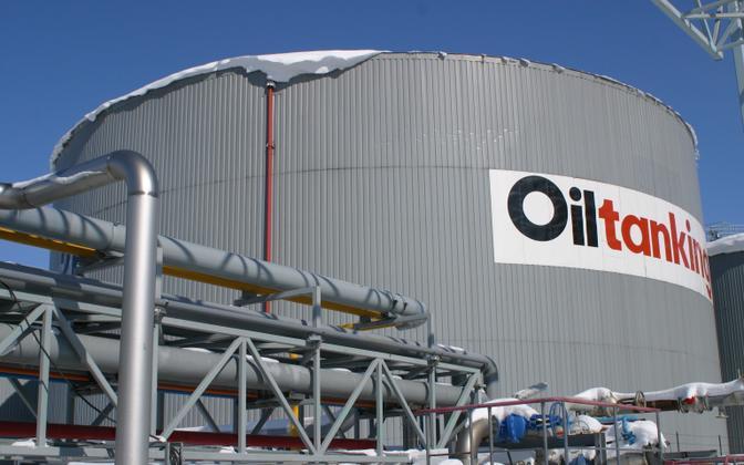 Терминал Oiltanking в порту Мууга.