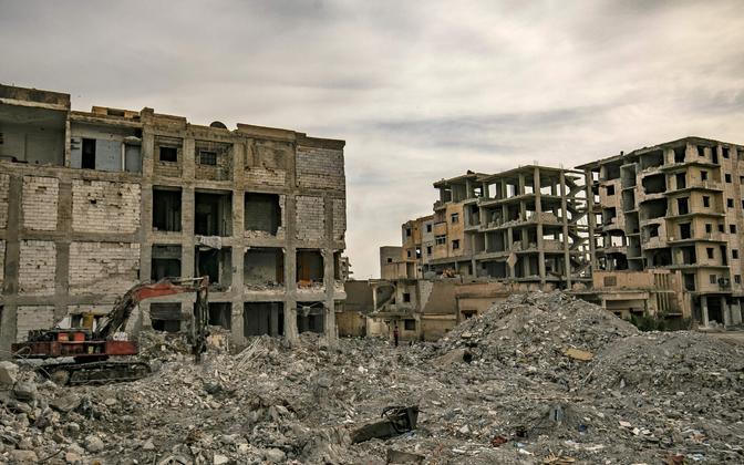 Raqqa linn Süürias, kunagine ISIS-e